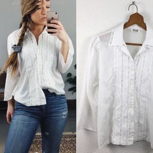 VINTAGE// Lace Blouse